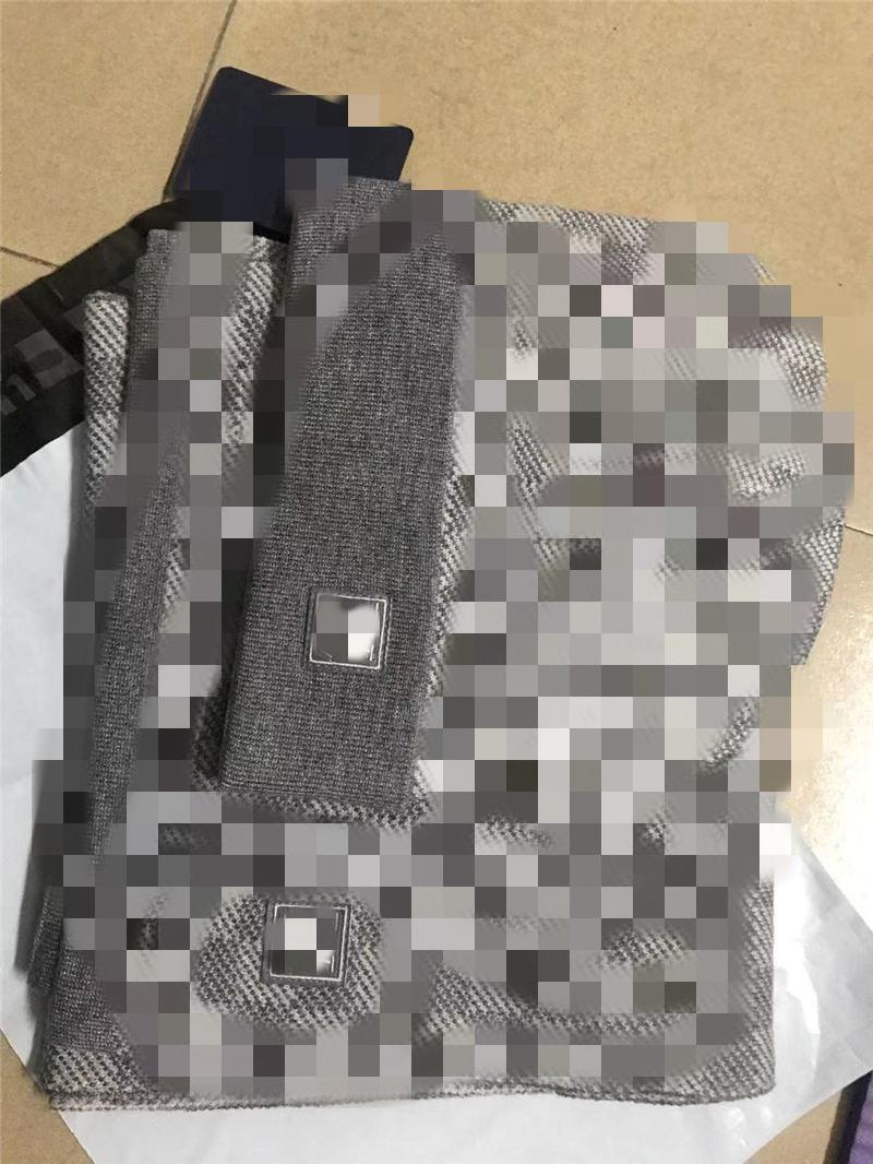 2021 soft maglia sciarpa set moda signore uomini inverno crochet berretto cappello all'aperto caldo maglia sciarpa tappo da sci 675