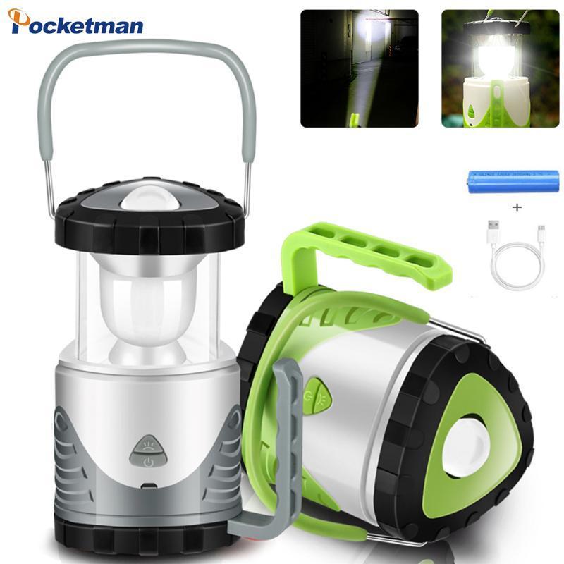 Pocketman Multi-Function Work Light Подвеска Прожекторы Портативный Кемпинг Лампа Открытый Кемпинг Фонарь18650