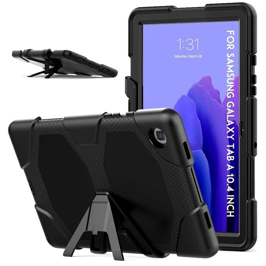 For iPad Mini 1 2 3 3-layer Tablets Kickstand Shockproof Protector Case