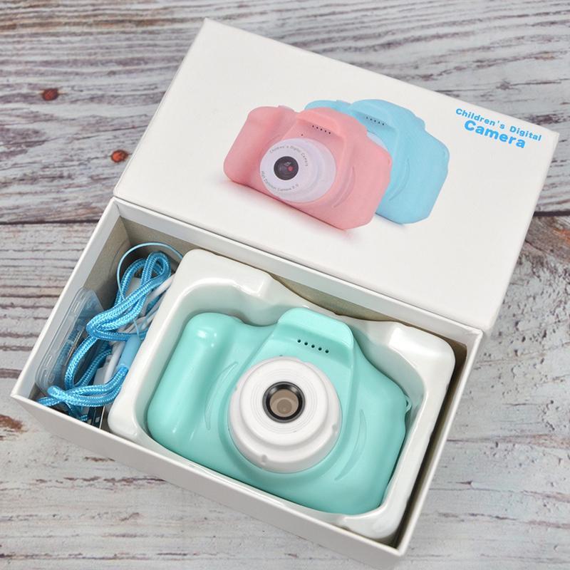 Детская камера с картой памяти 8 ГБ мини цифровые камеры игрушки для детей на день рождения подарок мини детская цифровая камера оригинальная коробка