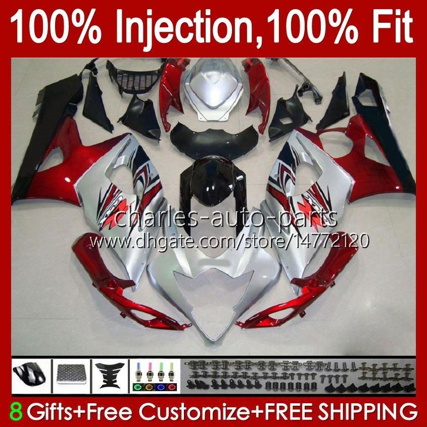 OEM-Spritzgussform für Suzuki GSXR1000 05 06 GSXR 1000cc 1000 CC K5 BODYwork 11HC.0 GSXR-1000 GSX-R1000 05-06 GSX R1000 2005 2006 100% Fit Verkleidungsset