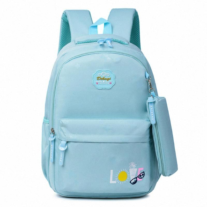 2020 bolsas de la escuela de niños nuevos calientes para niñas Mochila de la escuela de gran capacidad para las niñas bolsa de libros para niños Mochila E1EB #