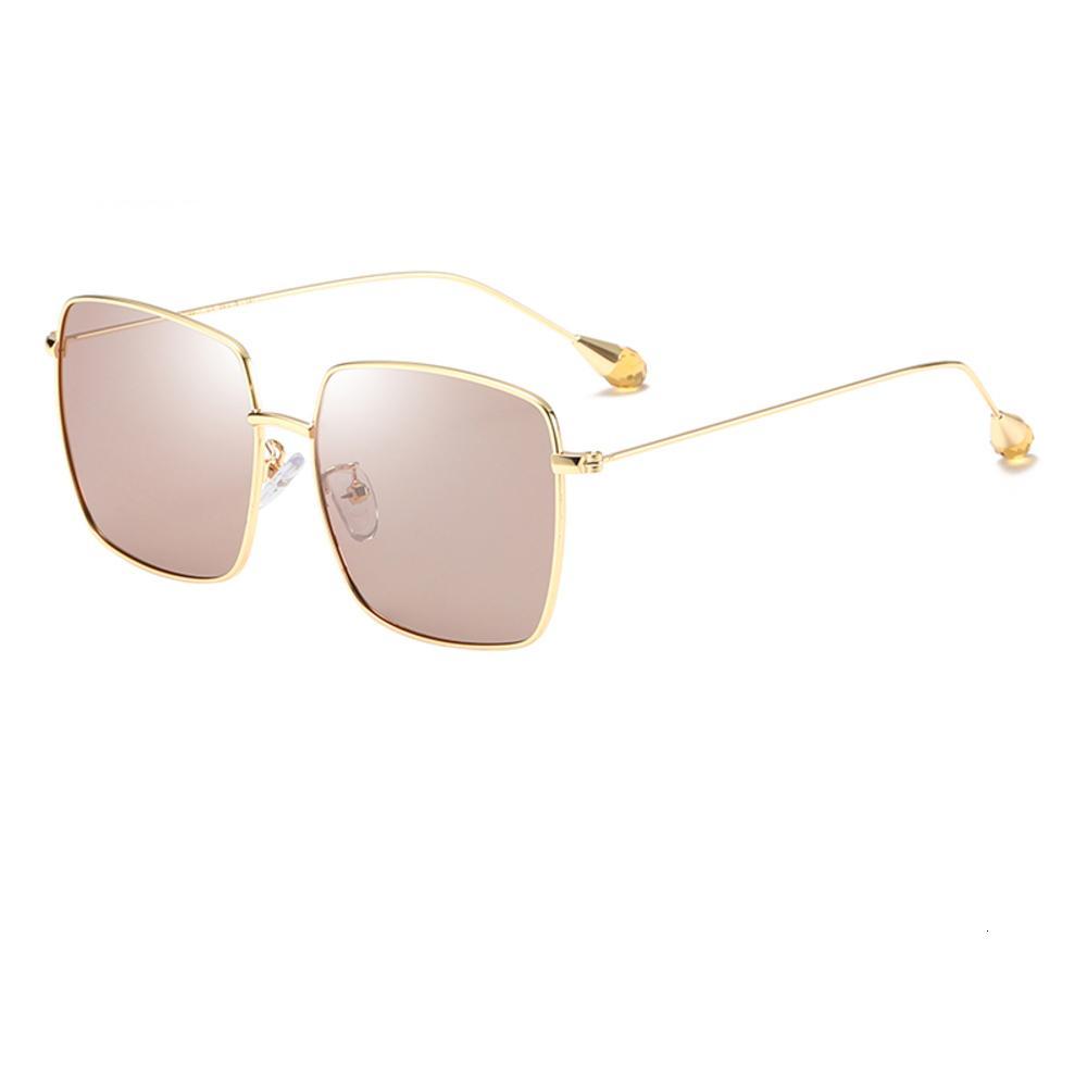 Marca digna óculos de sol diamante personalidade de metal óculos de sol infantil nova tendência grande quadro sunglass meninos vidro vidro hd vidro