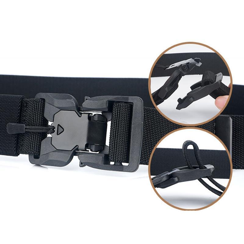 Fashion Belt Tactical Belts Nylon men belt Heavy magnetic Buckle Adjustable Military Army women belt outdoor Quick Release Jeans strap