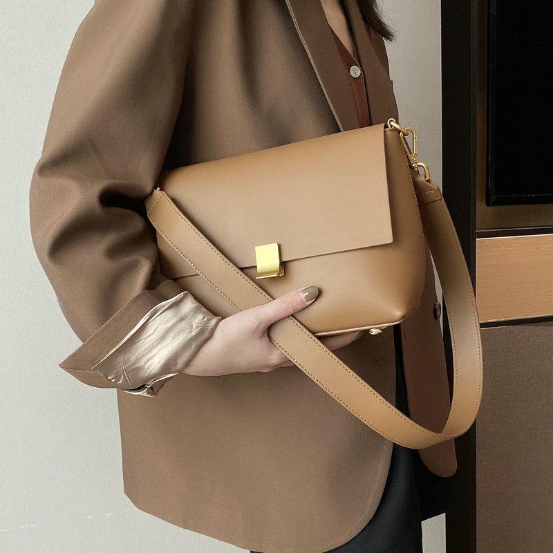Herbst und Winter Neue Handtaschen 2021 Leder Kleine Square Tasche Schulter Messenger Bag Mode Lässig