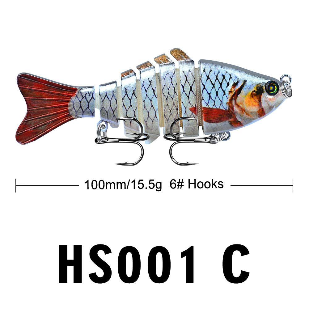 Рыболовные приманки WOBBLERS SWARBAIT CRANKBAIT HARD BAIT IRAGEIAL MALDIONGAL009 Beale LifeLike Приманка 7 Сегмент 10 см 15,5 г EPACKETE
