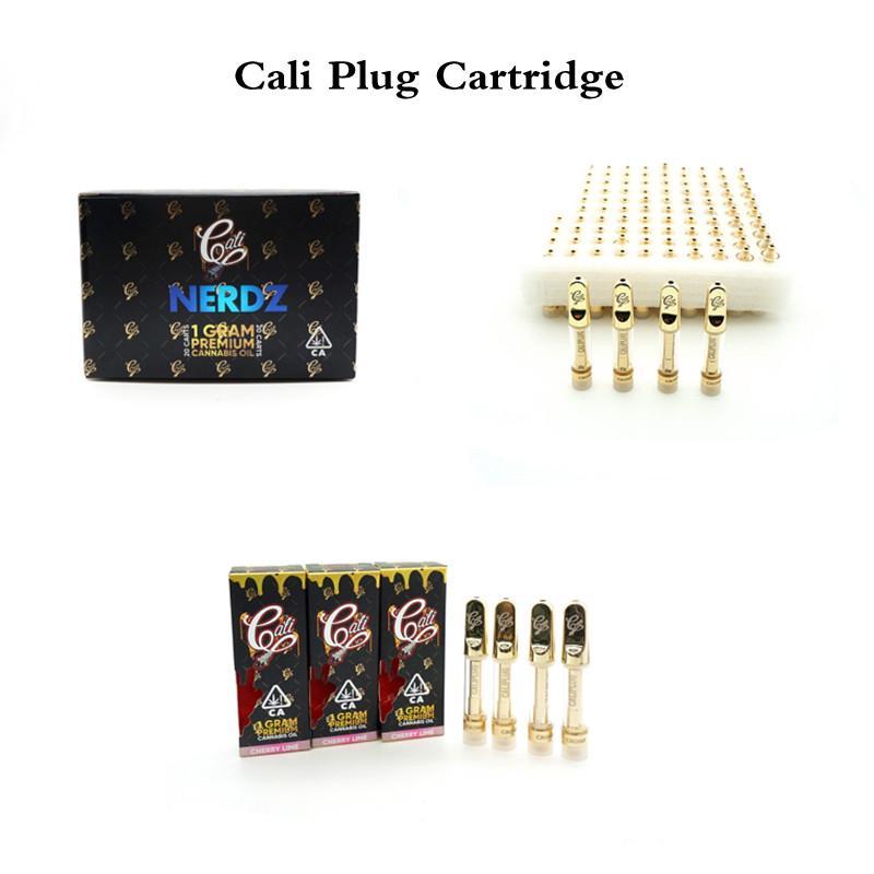 Cali Enchufe Atomizadores Filtro de cigarrillo Vacío Vape Pen Vidrio Cartuchos de Globo Empaquetado 0.8ml Carros de cerámica 510 Hilo Espesor Vaporizador de aceite