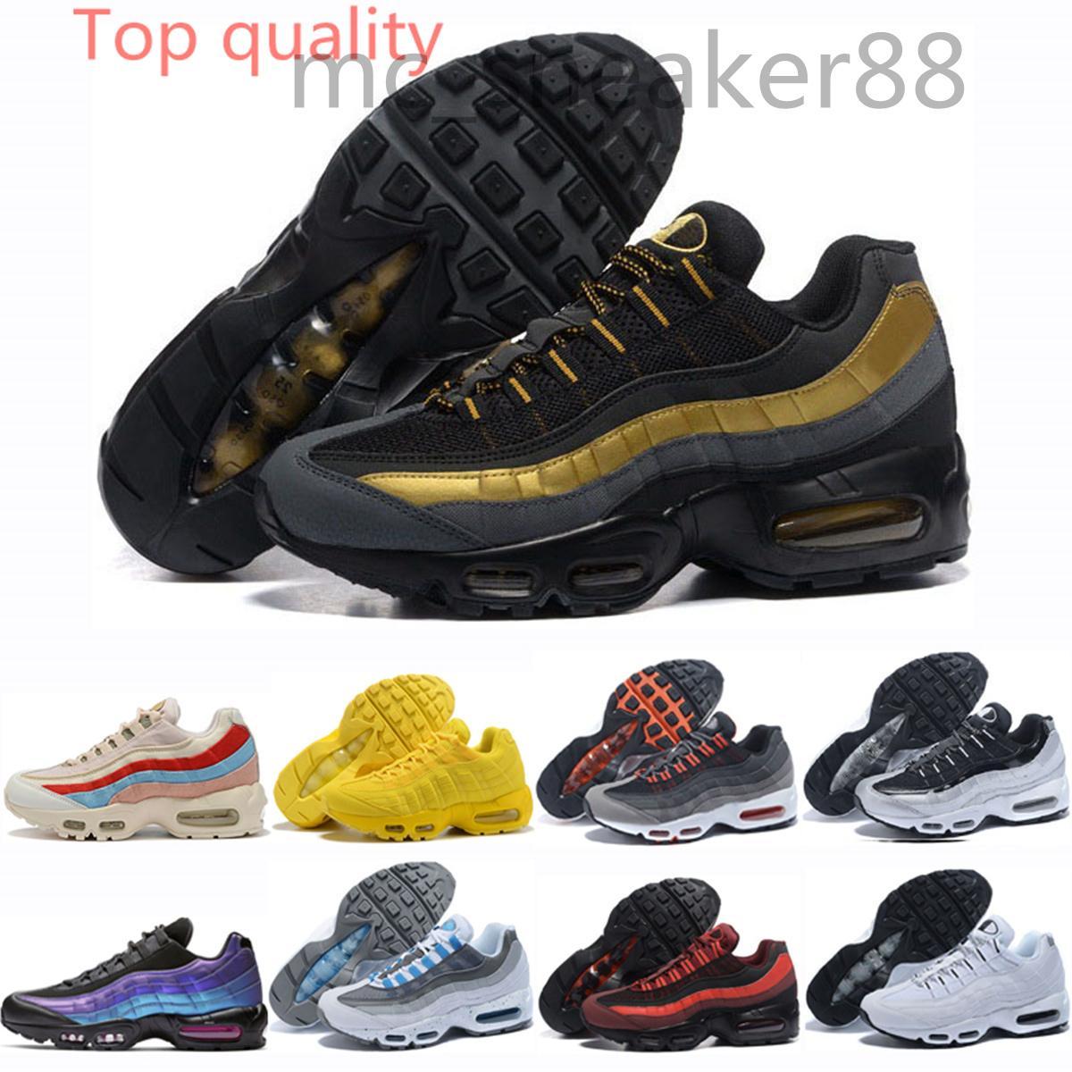 Nike Air Max 95 2021 Männer Mode Outdoor Schuhe OG Traube Triple Black White Herren Trainer Frauen Laser Fuchsia Sport Tennis Althty Sneaker Schuhe