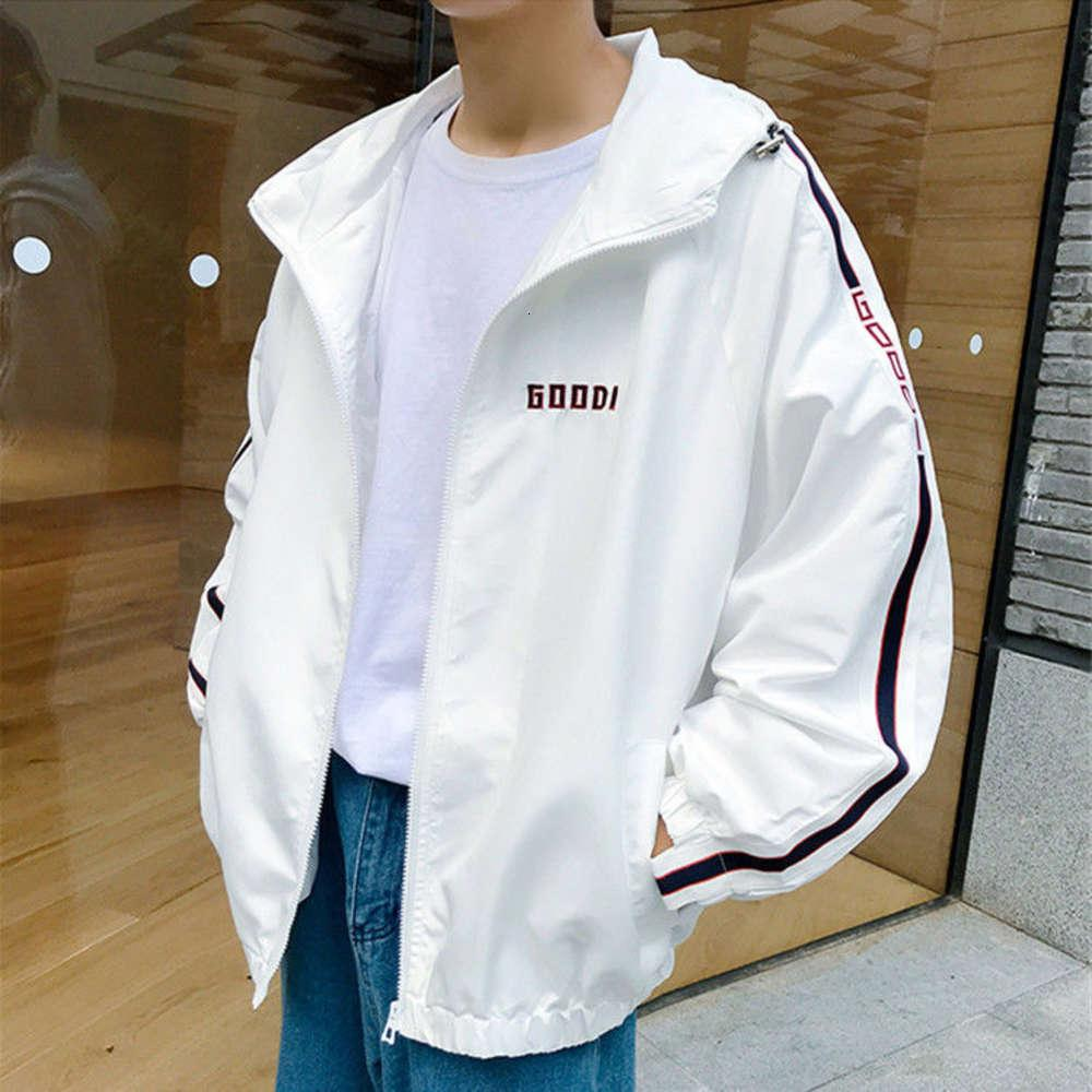 Летний мужской супер огонь свободные тенденции студент корейский молодежный спорт бейсбол куртка повседневная солнцезащитный крем