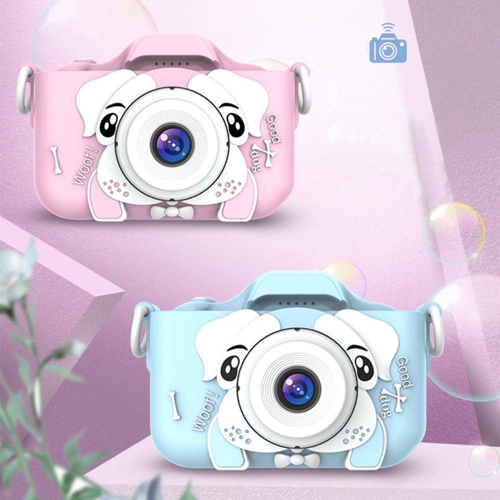 2,0-Zoll-Kinder-Mini-Kamera-digitale Foto-Video-Vordere-hintere Kamera-Objektiv Pädagogische Weihnachtsgeschenke für Kinderspielzeug Geschenk Jungenmädchen