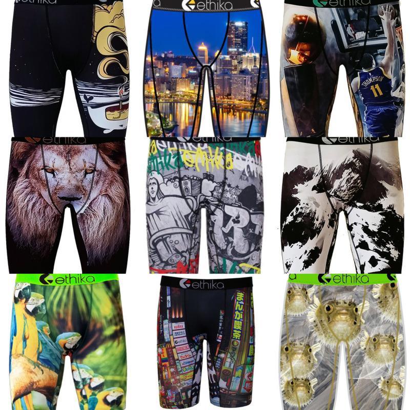 Brand Uomo Boxer Biancheria Intimo Designer Sport Short Boxer Beach Swim Tronchi Pantaloni Pantaloni Graffiti Boxer Breve Underpants S-2XL H22501