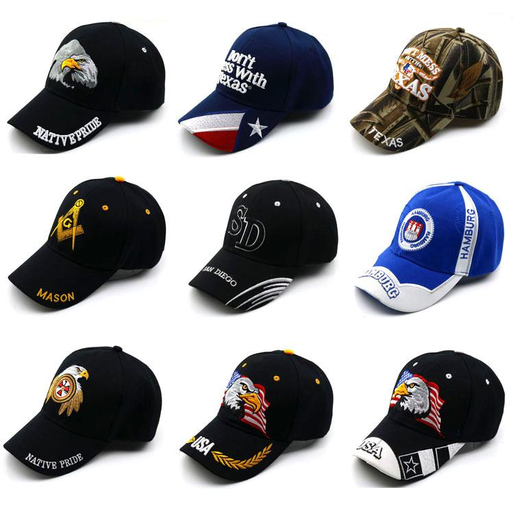 Basebol de sombreamento de sol novo masculino na primavera e no verão chapéu coreano H176