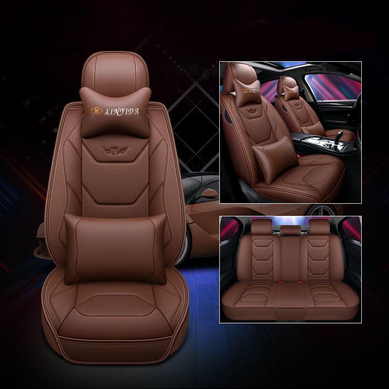 Yüksek kaliteli deri araba koltuğu FORD KIA K2 K3 K4 K5 KX3 KX5 KX7 Cerato FCRTE Tam Araba Koltuk Kapağı Koltuk Minderi 01