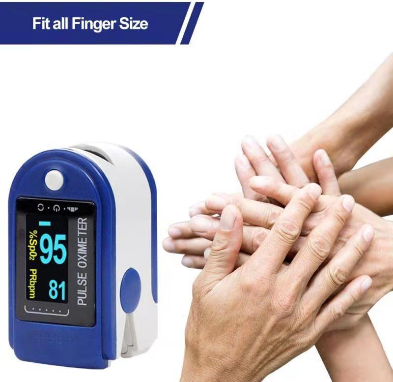 L'ossimetria si riferisce al clip-on domestico misurando la saturazione dell'ossigeno del sangue e il monitor della frequenza cardiaca del tasso di impulso medico