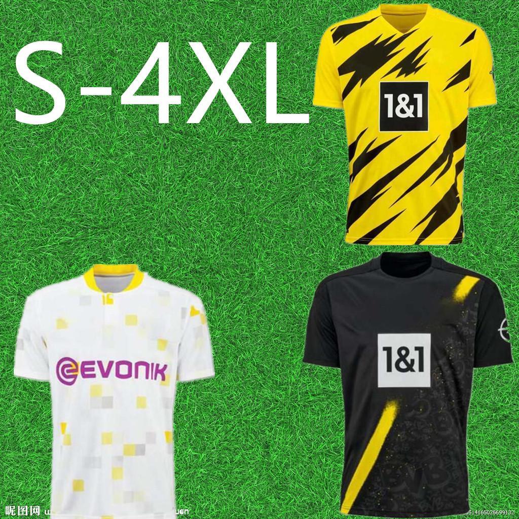الرجال Dortmund Haaland Reus 20 21 Brandt Soccer Jersey 2020 2021 كرة القدم قمصان Bellingham Sancho Maillot De Foot Homekeker