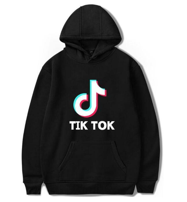 Tik Tok Yazılımı Yeni Baskı Kapüşonlu Kadınlar / Erkekler Popüler Giyim Harajuku Rahat Sıcak Satış Hoodies Kazak 4XL