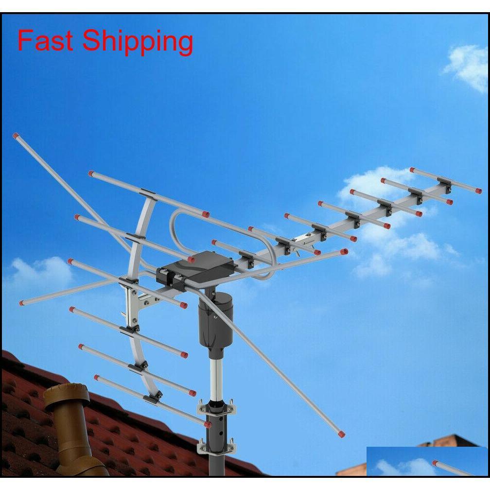 200miles 1080P في الهواء الطلق تضخيم HDTV تلفزيون رقمي هوائي LO QYLMXO Sports2010