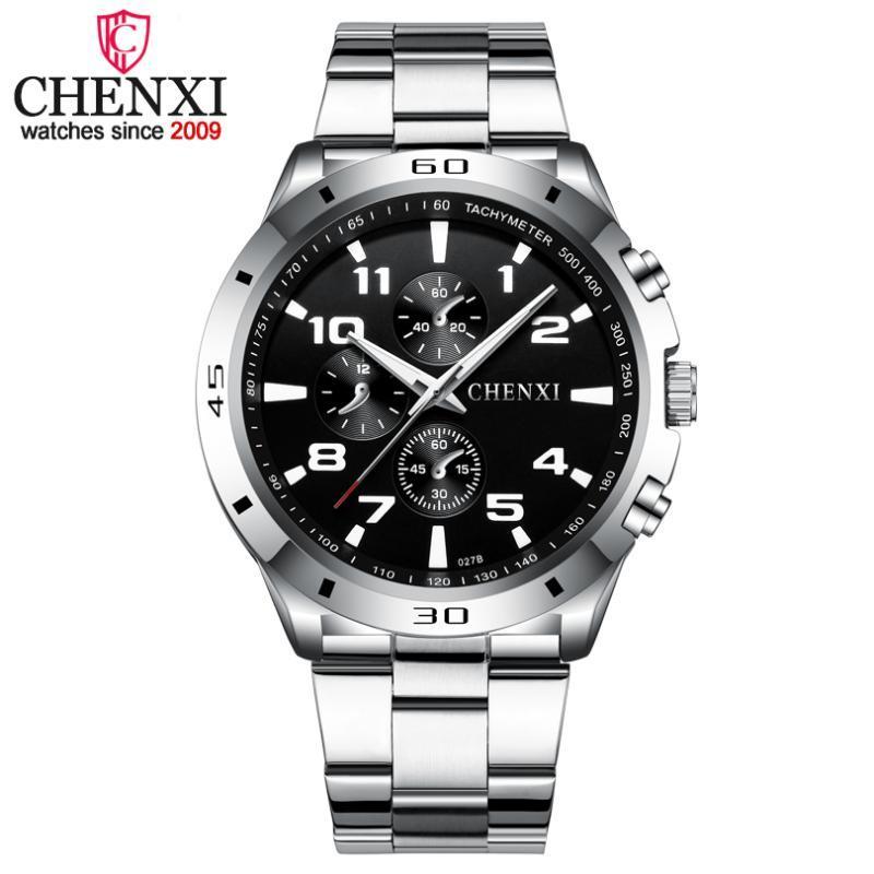 Montre-bracelet Chenxi 2021 Top Marque Hommes Montres Analog Military Military Mâle Quartz Montre Montre Montre Relogio Masculino