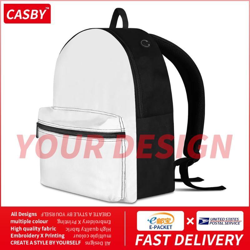 Mochila 2021 Diseño personalizado Estudiante Mochilas de moda Patrón de moda Personalización Bolsas de lona Ocio DIY Imprimir libro Bolso J