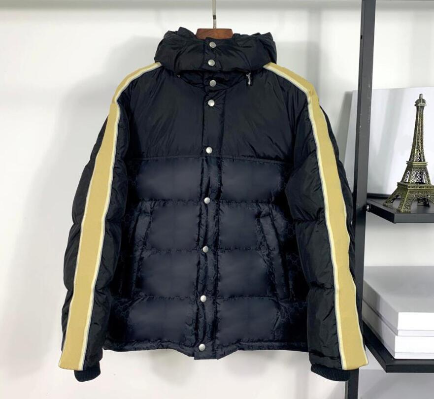 Giacca da uomo Designer Cappotti di alta qualità in basso Parkas con lettere per uomini donne Streetwear all'aperto Giacche invernali Homme Unisex Cappotto Cappotto Outwear