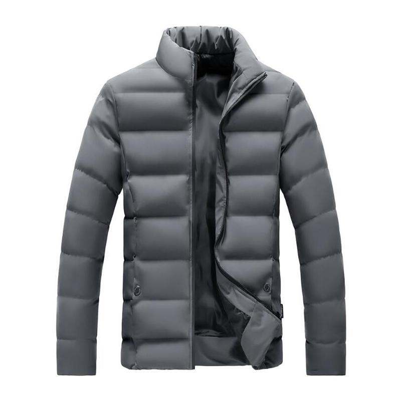 NOUVEAU hiver hiver chaud manteau parka occasionnel fettachetable veste en coton pour hommes vêtements chauds 210222