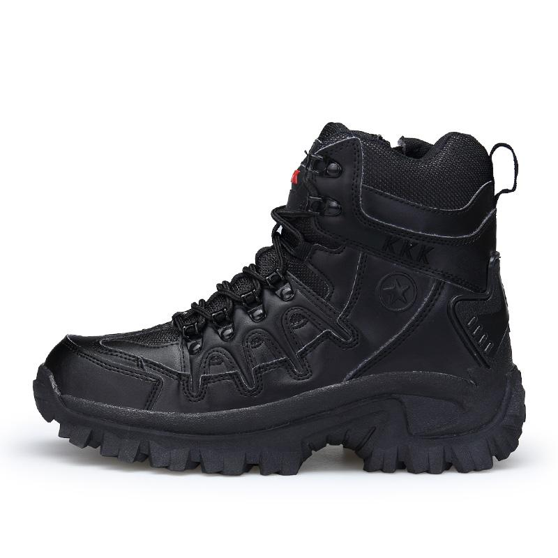 Mens Military Boot Combat Mens Ankle Boot Tactical Big Size 39-46 Army Boot Male Shoes Work Safety Shoes Motocycle Boots