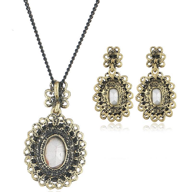 Fashion EXAGÉGUATION Crystal Bijoux Collier Boucle d'oreille Boutique