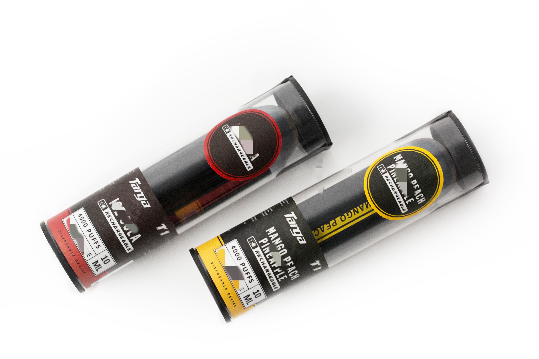 Original 10 ml Targa T1 VAPE 4000 Puffs Einweg-Pods-Gerät Vorgefüllte Patrone Wiederaufladbare Pod 1000mAh-Batterie von Vaporlax Leer Pen vs bar plus