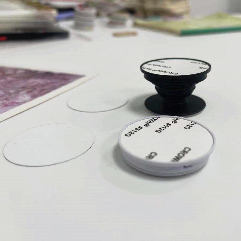 Manyetik Cep Telefonu Tutucular 2D Süblimasyon Boşlukları Braketi Standı Isı Baskı Tablet için Alüminyum Levha ile