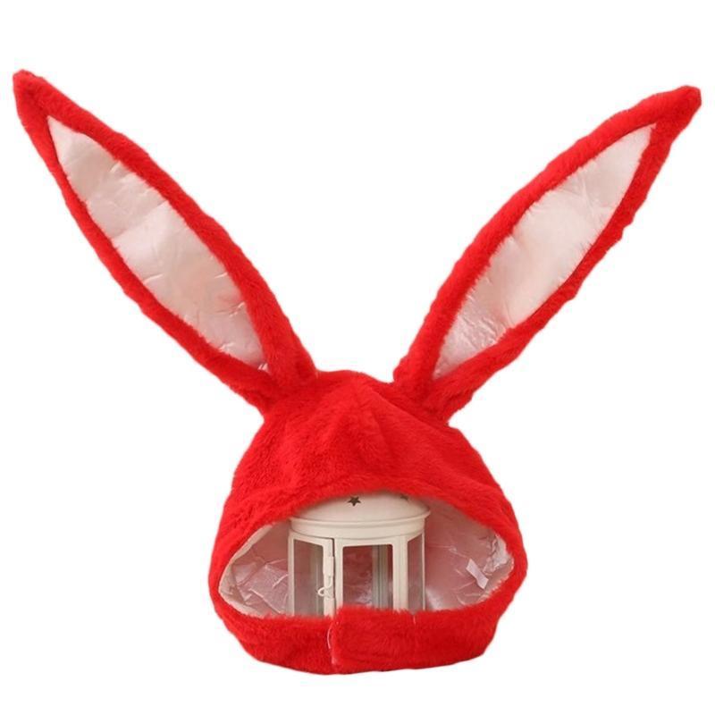 Mütze / Schädelkappen Lustige Plüschohren Kapuze Hut Eastern Cosplay Kostüm Headwear Requisiten XX9D