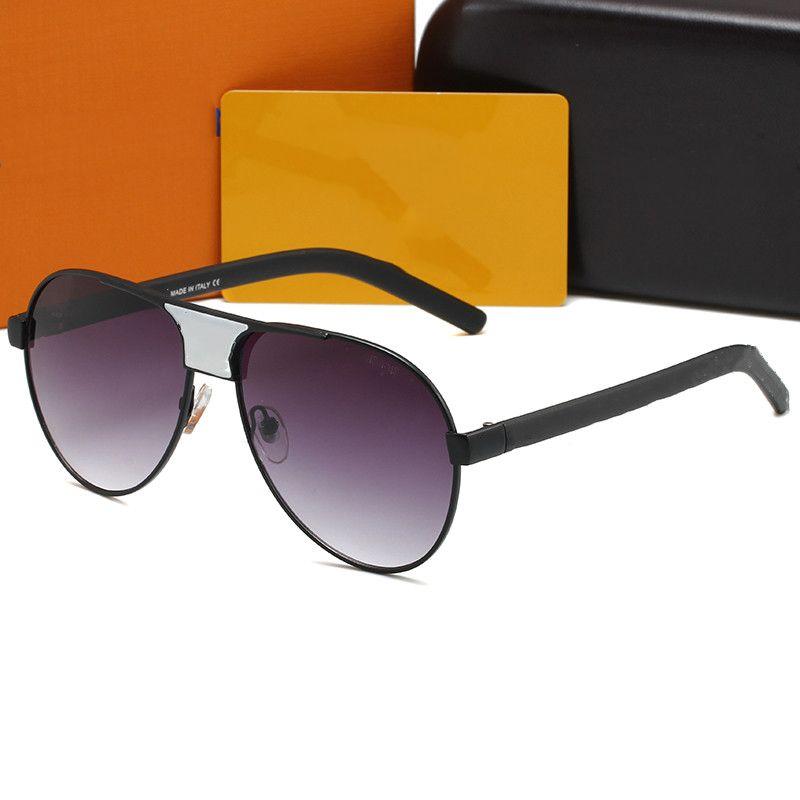 1082 diseñador gafas de sol hombres anteojos tonos al aire libre PC Frame Fashion Classic Lady Gafas de sol Espejos para mujeres