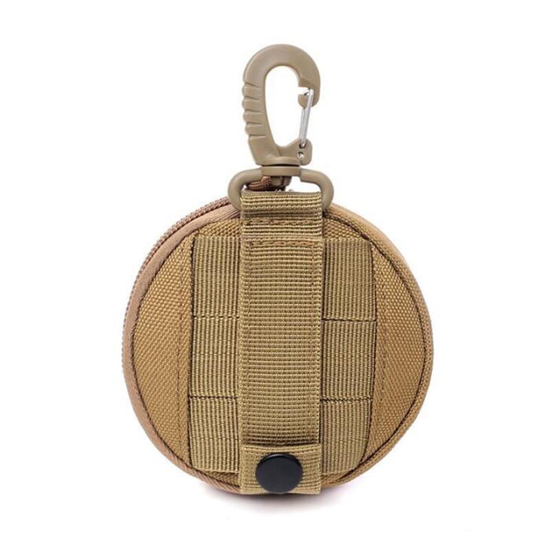 Ключ чехол для кемпинга Пешие прогулки сумка Тактическая Утилита Функциональная беговая сумка для мужчин Водонепроницаемый Сплошной цветной кошелек