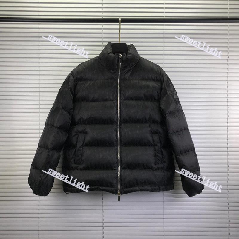 Dior down jacket Мужская зима пуховик высокого качества парки для мужчин черный синий красный женский вниз куртка с капюшоном пальто моды держать тепло