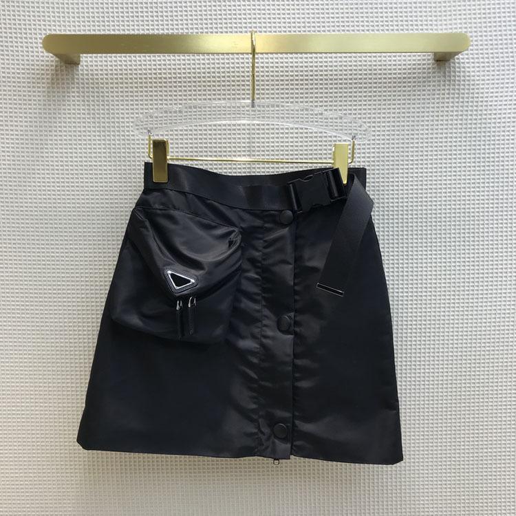 2021 İlkbahar Yaz Sonbahar Milano Tasarımcı Etekler Moda Bir Etek Kadın Marka Aynı Stil Etekler 0306-11