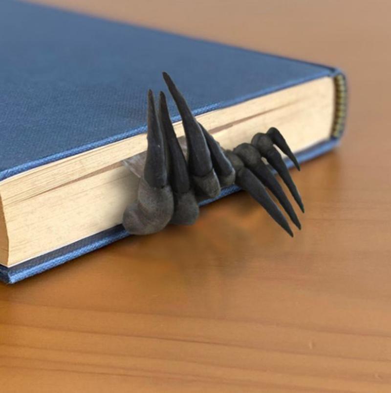 بطاقات المعايدة مشبك الشيطان فريد الشيطان الإشارات المرعبة ديكورات سطح المكتب الحديثة الحلي الراتنج الحرف المرجعية للهدايا