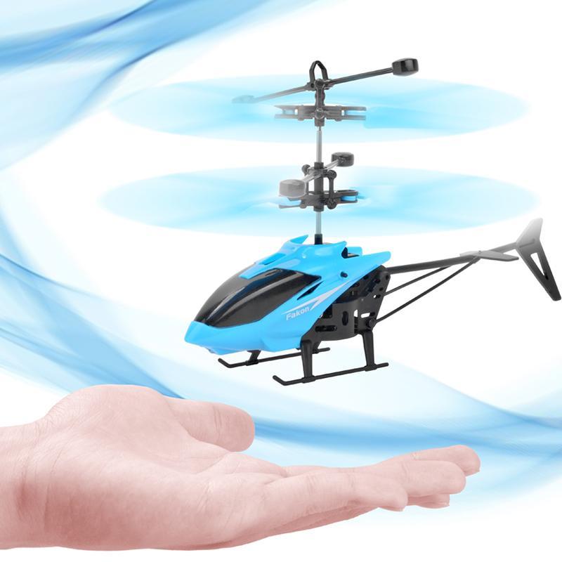 Mini RC Drone Вертолет Infraed Индукция 2 канала Электронная смешная подвеска Dron Aircraft Quadcopter Маленькие дройки Детские игрушки