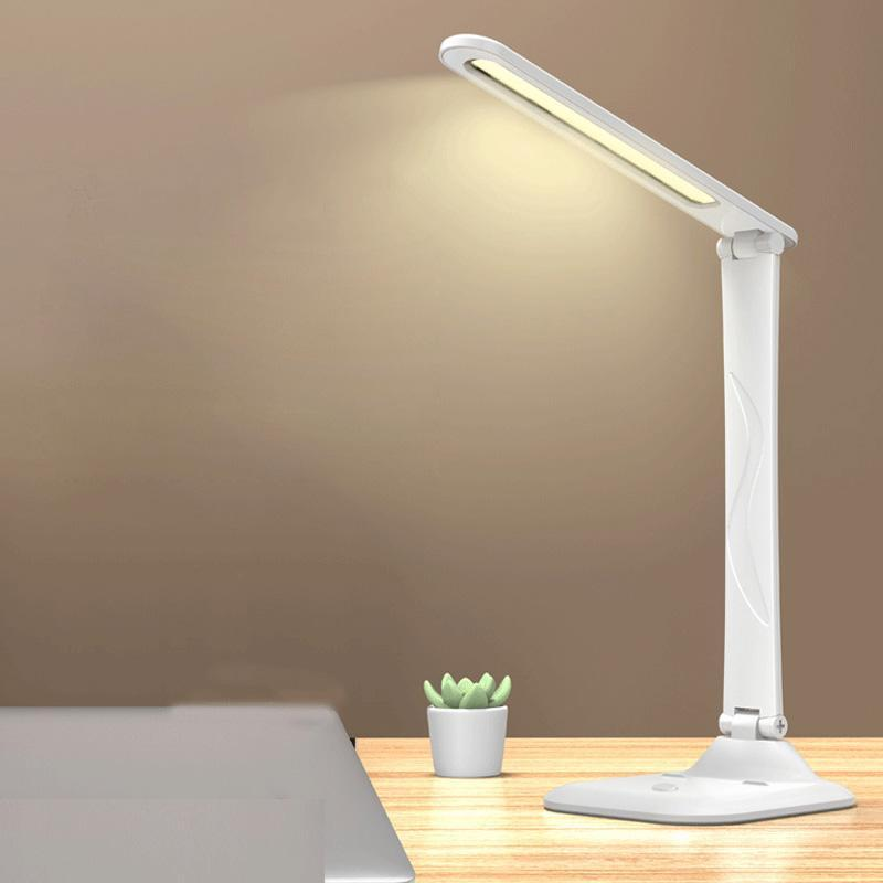 Table Lamps Modern Desk Night Lights Eye-Protection Lamp For Student Dimmable Foldable LED USB Charging