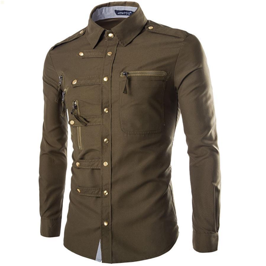 Мужская рубашка 2021 мужская одежда оригинальность футболки с длинными рукавами дизайнеры одежды новых рубашек простота футболки высокое качество OJ130