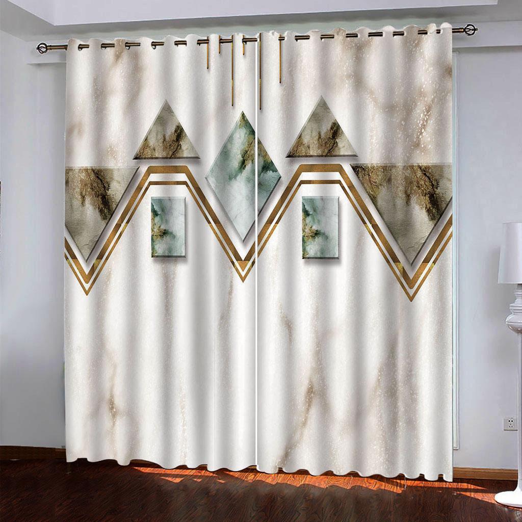 2021 Нестандартное окно занавес мраморные шторы для гостиной спальня 3D детская комната занавес детский кортинас