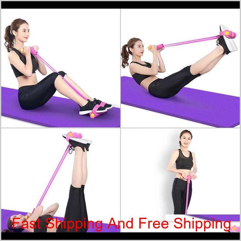 On Pulling Rope Crunches Chest Expander Chest Expansion Elastic String Fitness Equipment Household Men And Women Belly Control T 8B6Na Ng0Ze