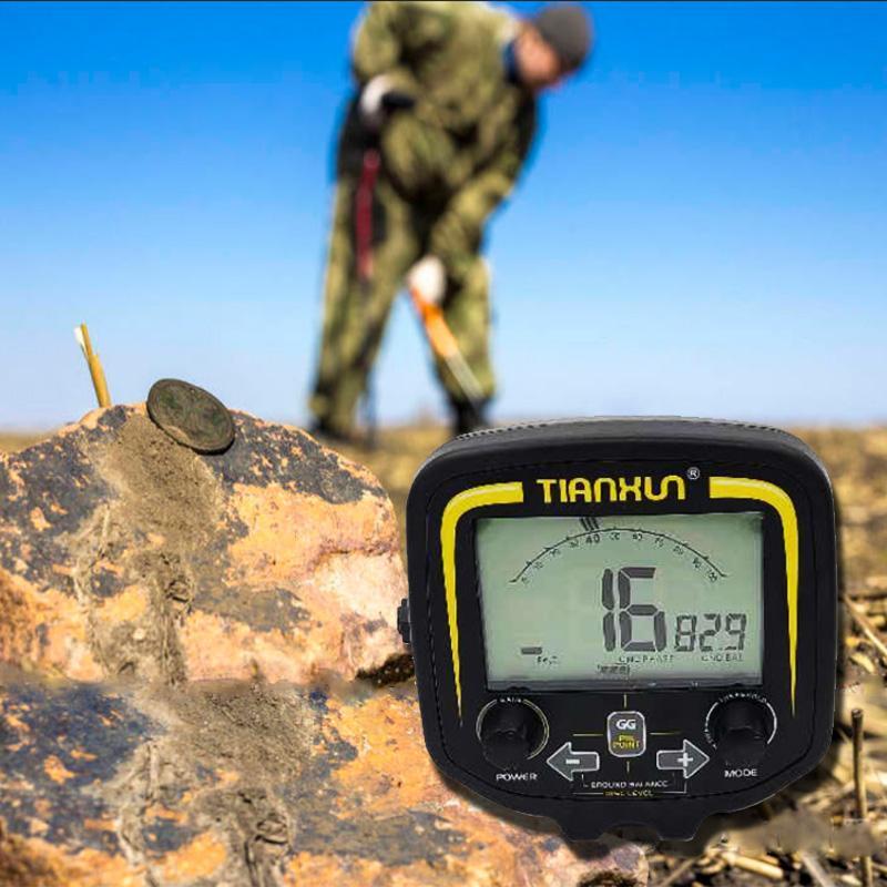 وحدة التحكم في شاشة LCD TX-850 لمحترفين محترفين للكشف عن المعادن مكتشف الذهب حفار الكنز TX850
