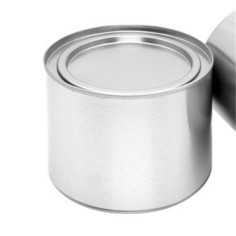 250ml chá de alumínio lata latas pote frasco recipientes comestic selo portátil máquina de chá de metal lata vela lata GGA4252