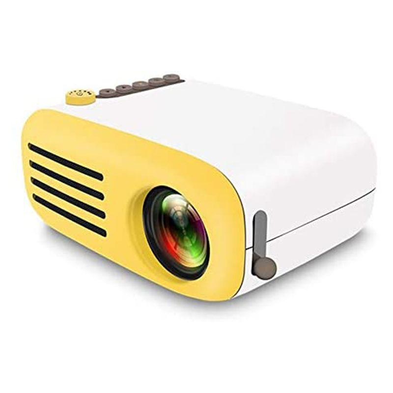 Mini proyector YG200 Home Entertainment Portable LED Proyector Supports HD 1080P Proyectores pequeños Pequeños 20-60 pulgadas Tamaño de proyección EE. UU. UE UE UK