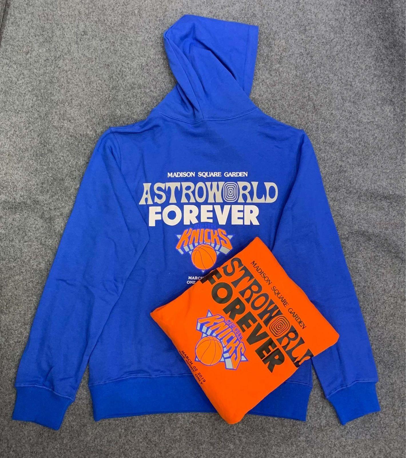 2021 Yeni FW Travis Scott Astroworld Dünya Msg Knicks Sonsuza Baskı Kadın Hoodies Hoody Hiphop Boy Erkekler Rahat Hoodie Kazak 1SMH