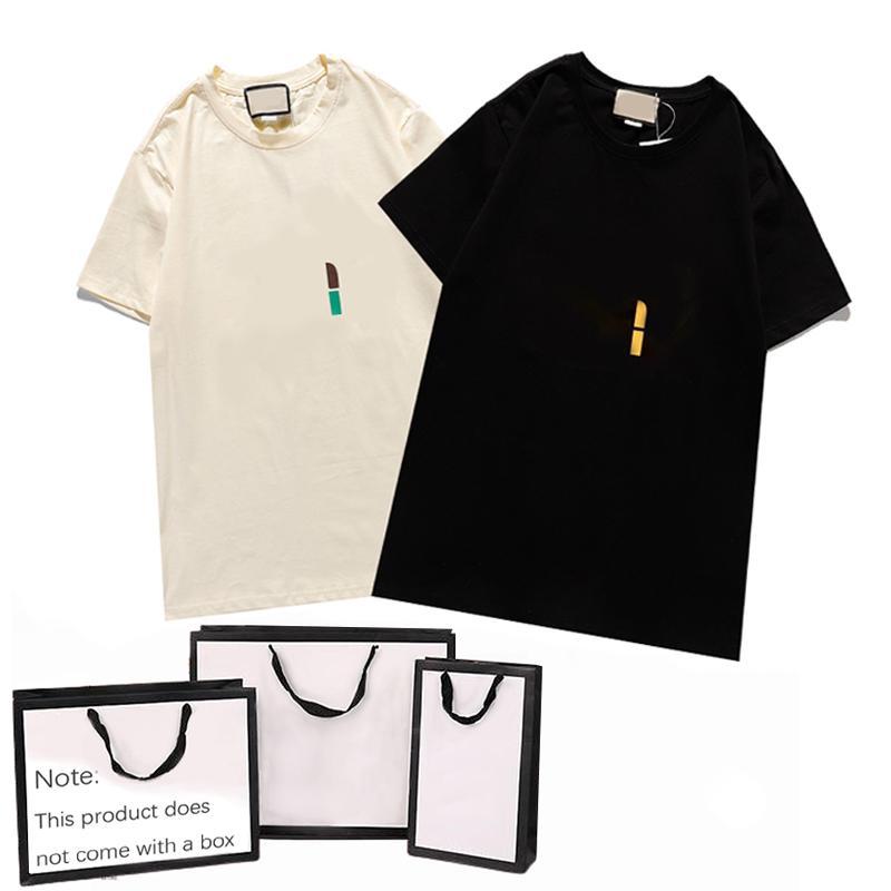 Homens T-Shirt Mulheres Verão Fresco Respirável Letra de Moda Impressão Top Trendy Tees Casuais Camiseta Quente Novo Ins Estilo de Rua Roupa de Alta Qualidade