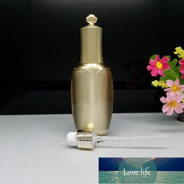 Botella de tóner de boder de boquilla de belleza de maquillaje profesional vacío, loción acrílica
