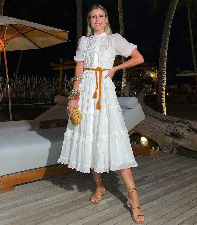 2021s / australiano bordado onda bolha de renda, manga curta, multiplicar a cintura, 2 peças maxi vestido