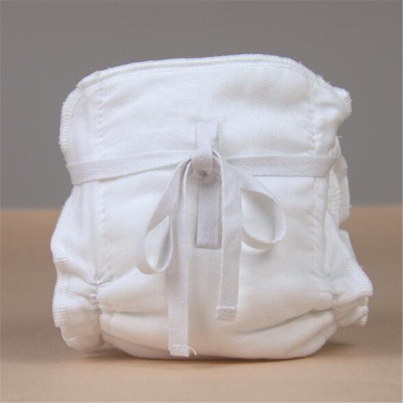 1pc 6 capas Cubierta de pañales bebé reutilizable Lavable a prueba de agua Orgánica de algodón de algodón de bambú Insertar inserciones calientes Boosters Liners