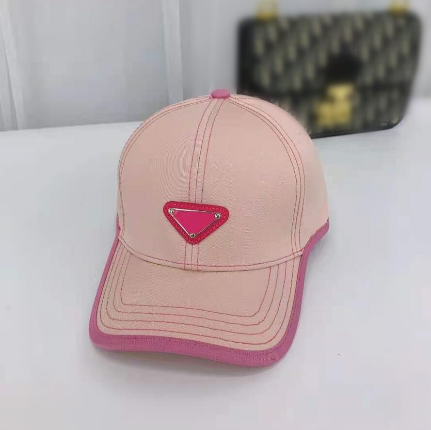 Yaz kapaklar tasarımcılar tuval kap erkek kadın beyzbol şapkalar açık spor klasik mektup şapka Avrupa tarzı