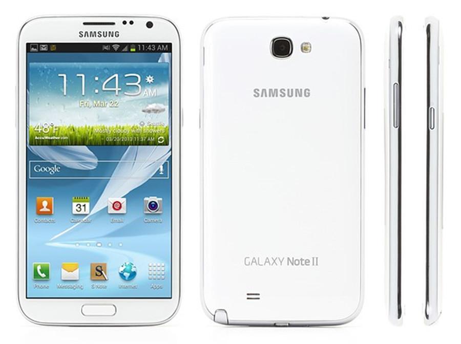 "Samsung Note 2 N7100 Remodelado-Original Samsung Galaxy Note 2 II N7105 Mobile Phone 5.5 ""Quad Core 8MP GPS WCDMA Smartphone"